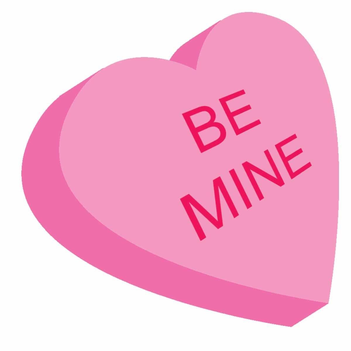 Romantic Valentine Candy Hearts Clipart Funny Pictures Shake The.
