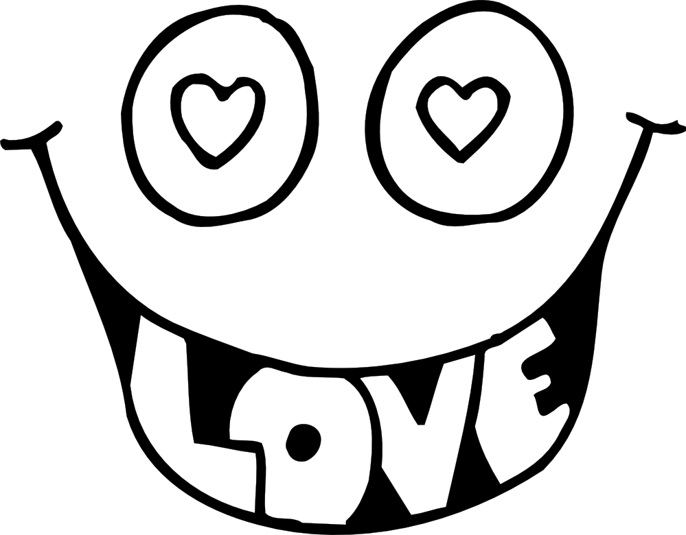 Free Black And White Valentines, Download Free Clip Art, Free Clip.