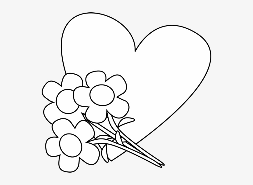 Heart Black And White Heart Clipart Black And White.
