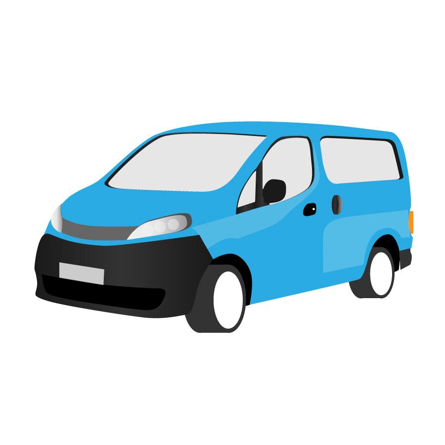 Mini Van Clipart.