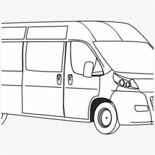 Vans Clipart Shuttle Van.