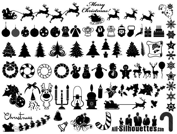 Free Christmas Clip Art Vector.