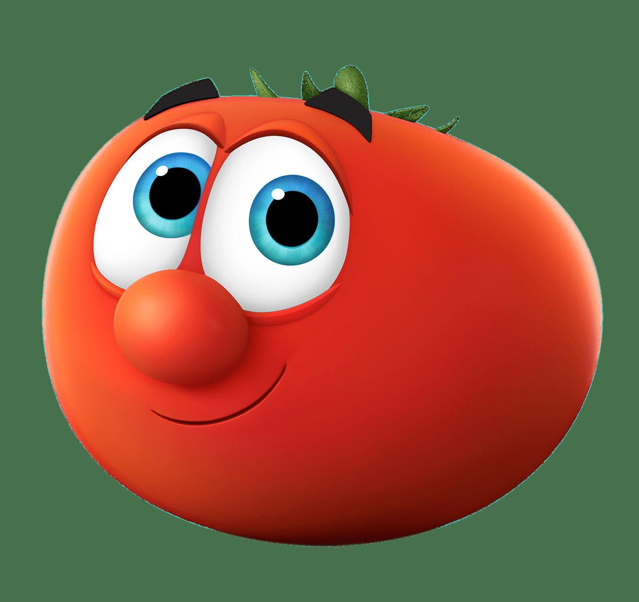 VeggieTales Bob the Tomato transparent PNG.