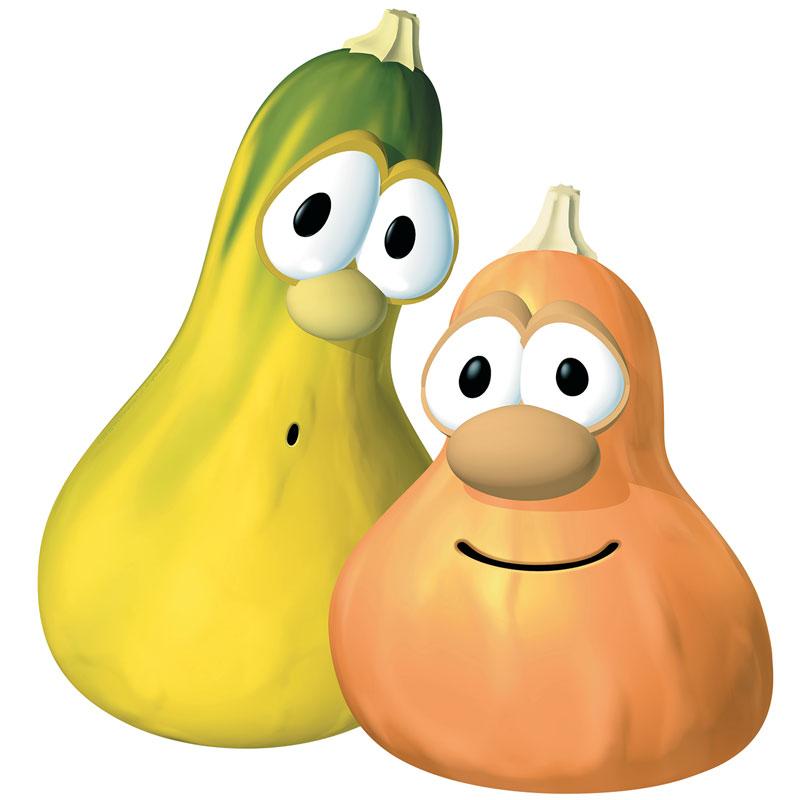 VeggieTales Jimmy and Jerry.