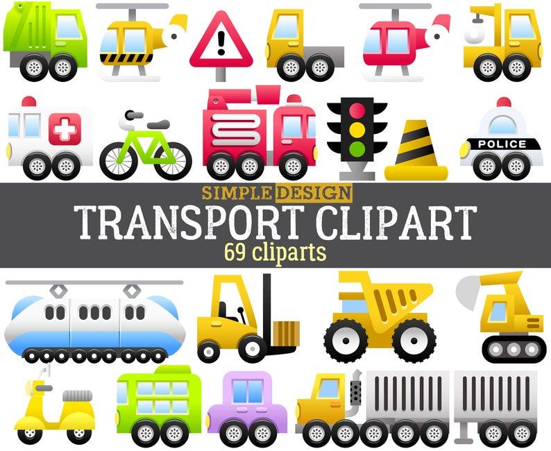 Transport clipart, Vehicle clipart, Car clipart, Truck clipart, Transport  clip art, Cars clipart, Vehicles clipart, Police car.