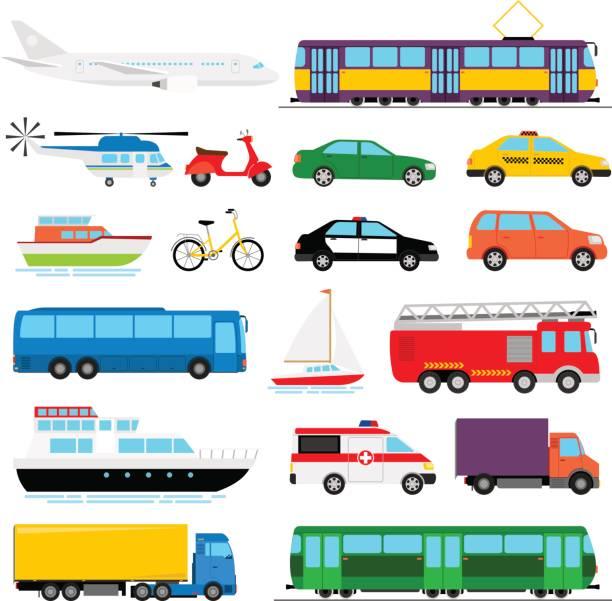 Best Land Vehicle Illustrations, Royalty.