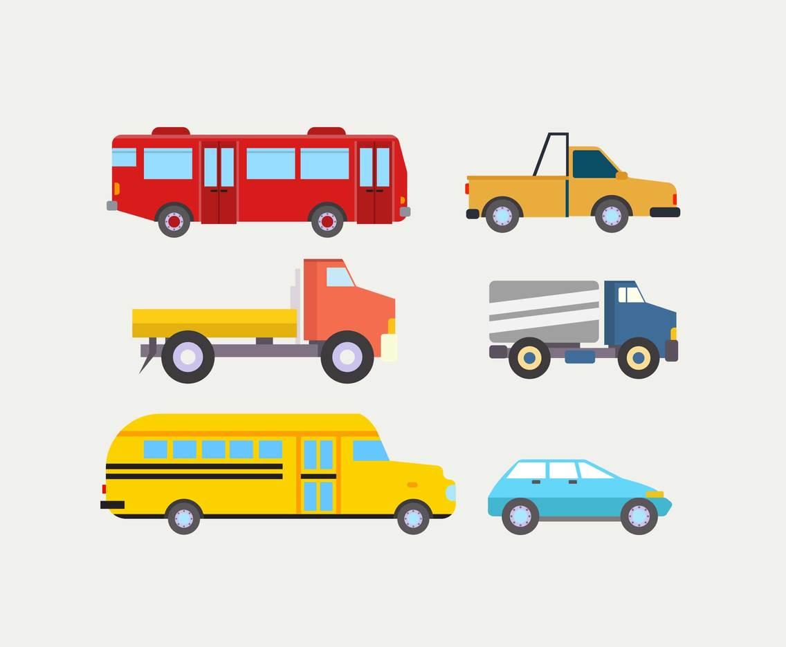 Various Vehicles Clipart Vector Vector Art & Graphics.