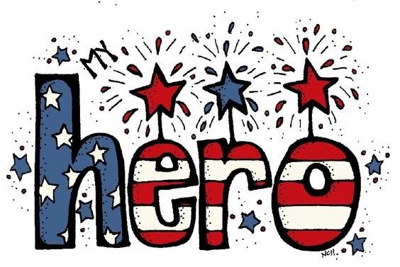 Free Veterans Day Clip Art 2018 Black & White For Facebook ~ Happy.