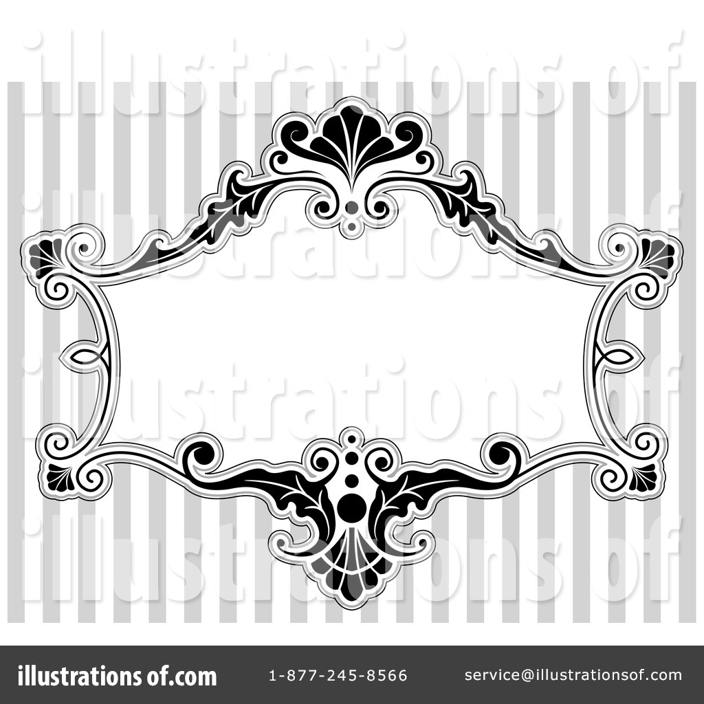 Victorian Frame Clipart #1050060.
