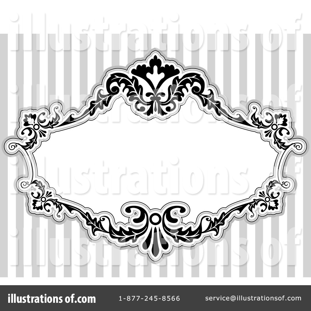 Victorian Frame Clipart #1050057.