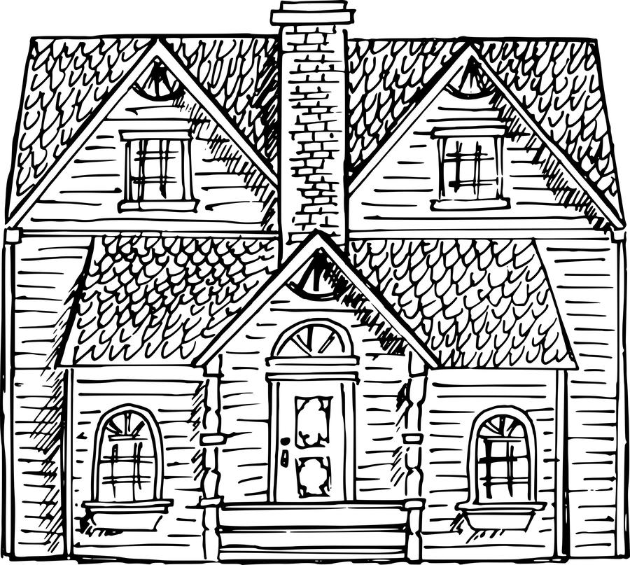 Download victorian houses clipart Victorian house Drawing Clip art.