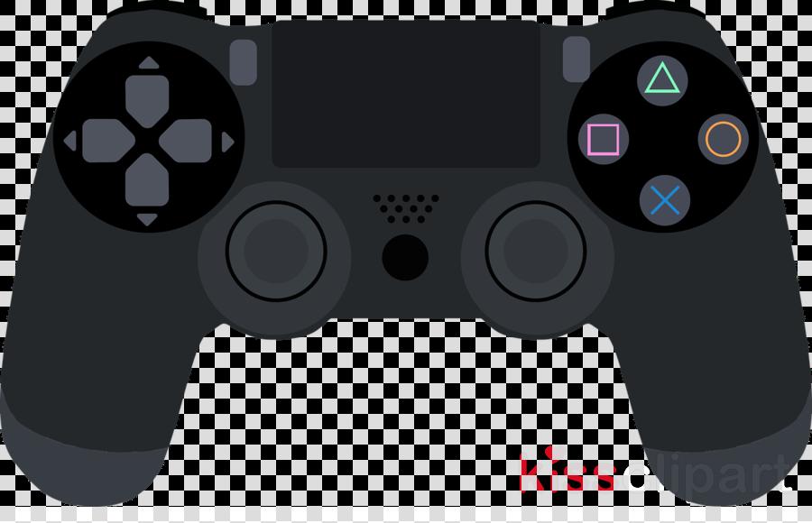 Joystick, Game, Black, transparent png image & clipart free download.