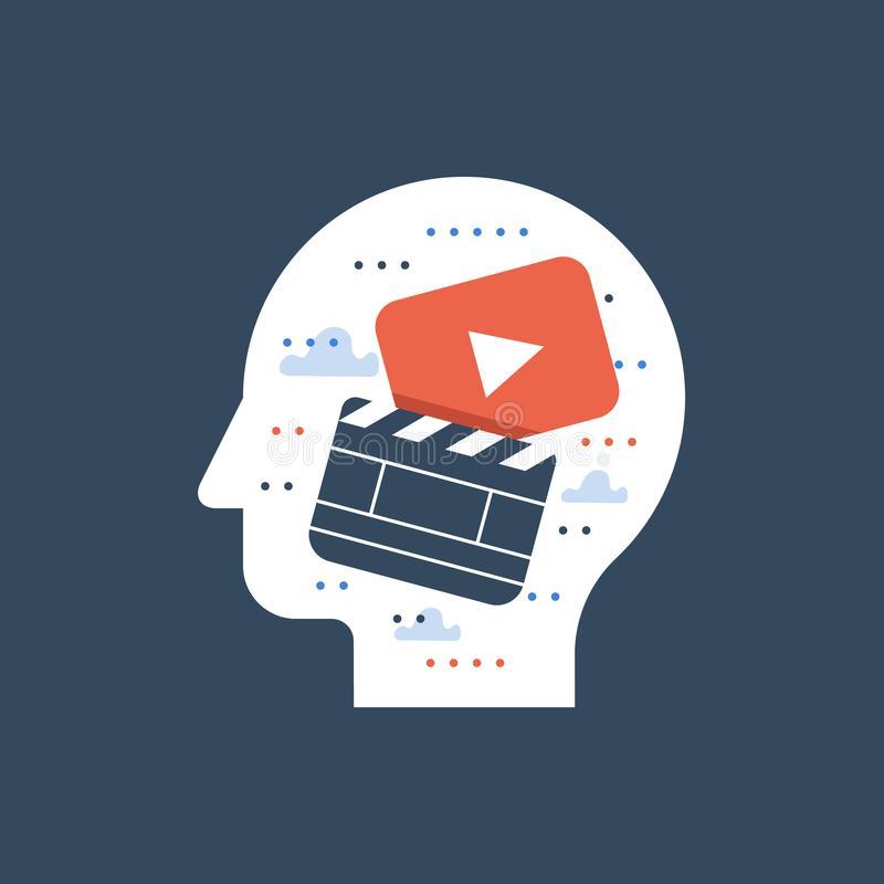 Video Editor Stock Illustrations.