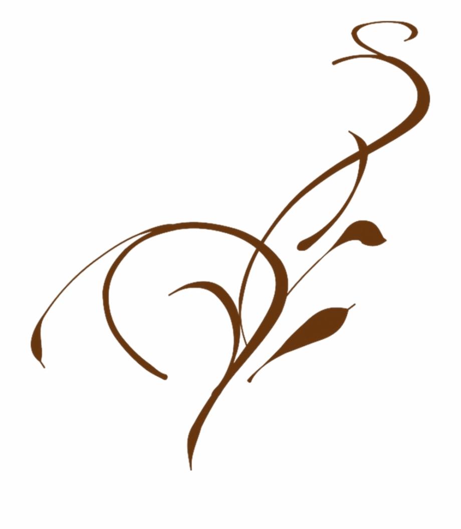 I Want A Flourish Leaf/vine Border Or Frame Clip Art.