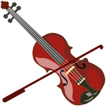 Violin Clip Art.