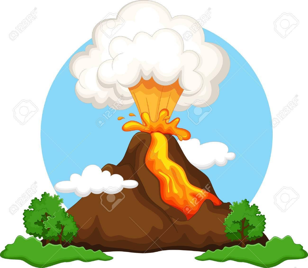 Clipart volcano 2 » Clipart Portal.
