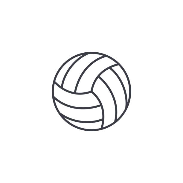 Best Volleyball Illustrations, Royalty.