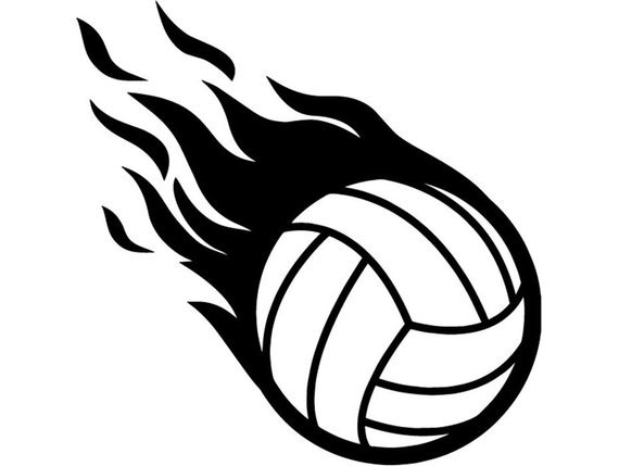 Volleyball on fire clipart 2 » Clipart Portal.