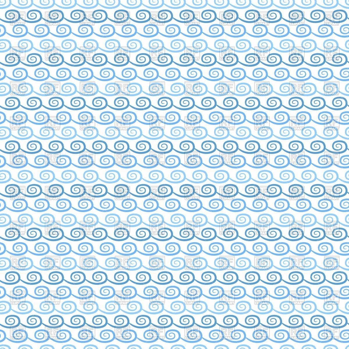 Wallpaper with symbolic waves.