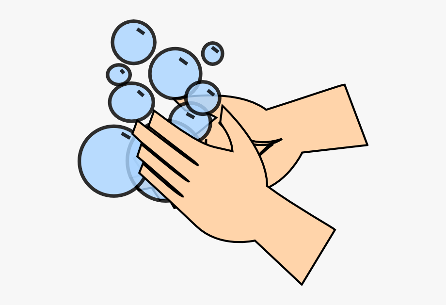 Washing Hands Clipart Transparent #38086.