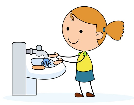 Washing Hands Clipart.