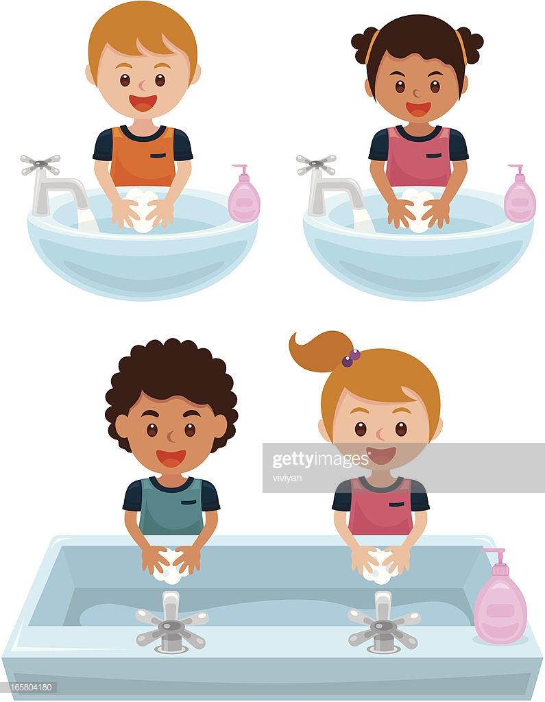 60 Top Washing Hands Stock Illustrations, Clip art, Cartoons.