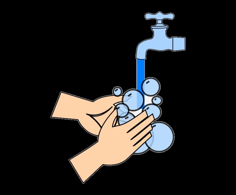 Washing Hands Clip Art At Clker Com Vector Transparent Png.