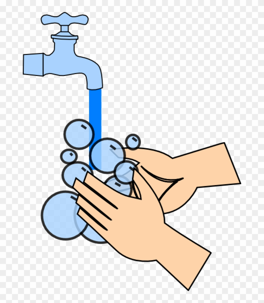 Permalink To Clipart Washing Hands.