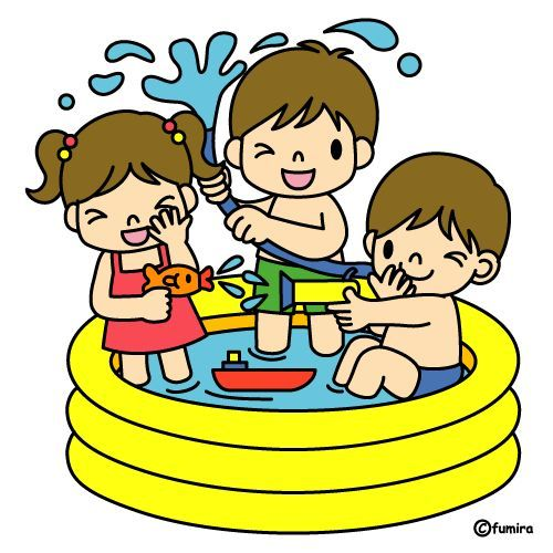 Water Play Clipart Borders & Free Clip Art Images #27263.