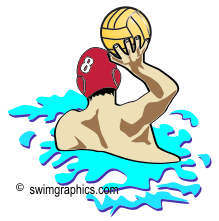 Water Polo clip art: Page One.