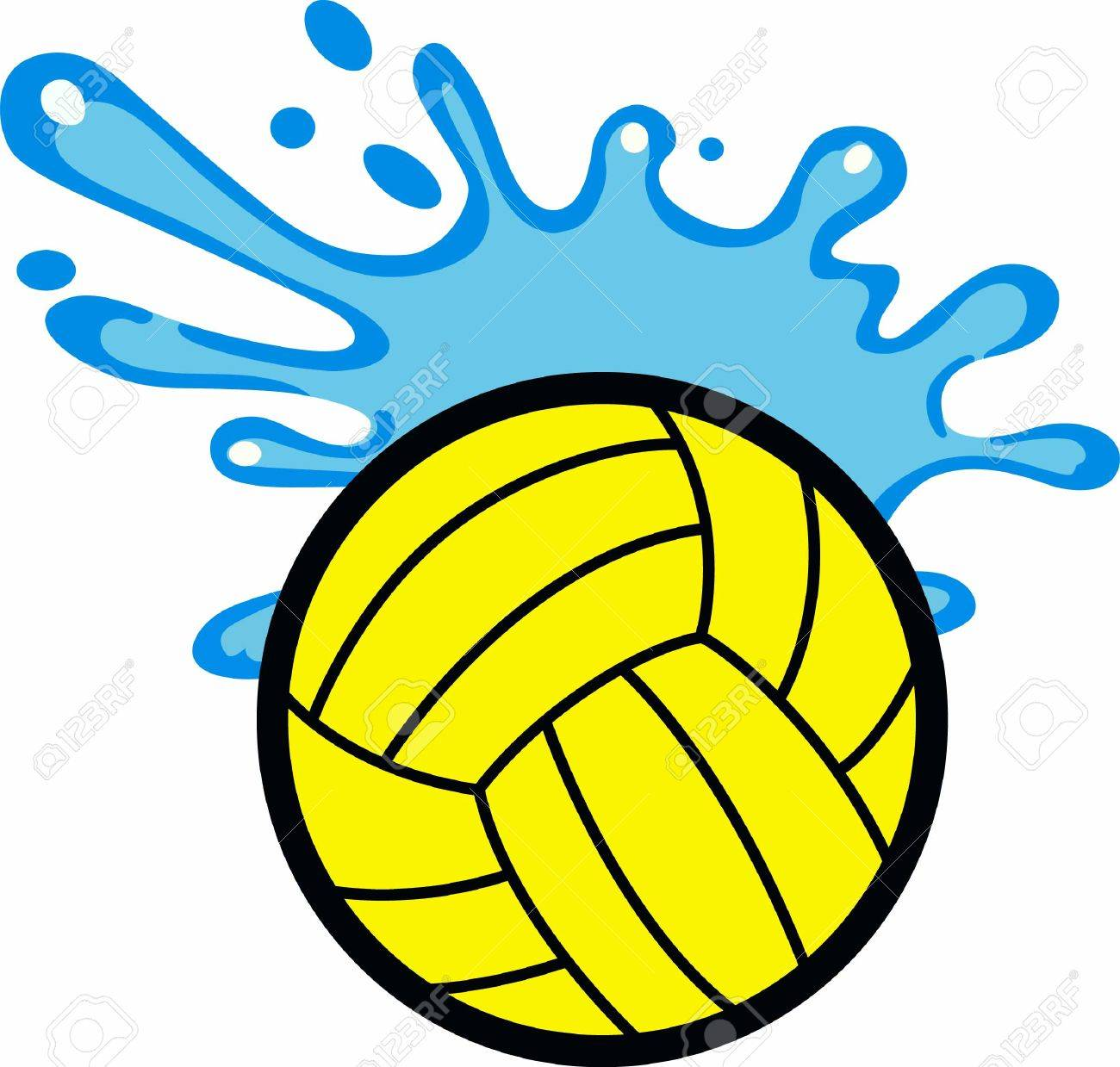 Water polo players will like this splashing ball..