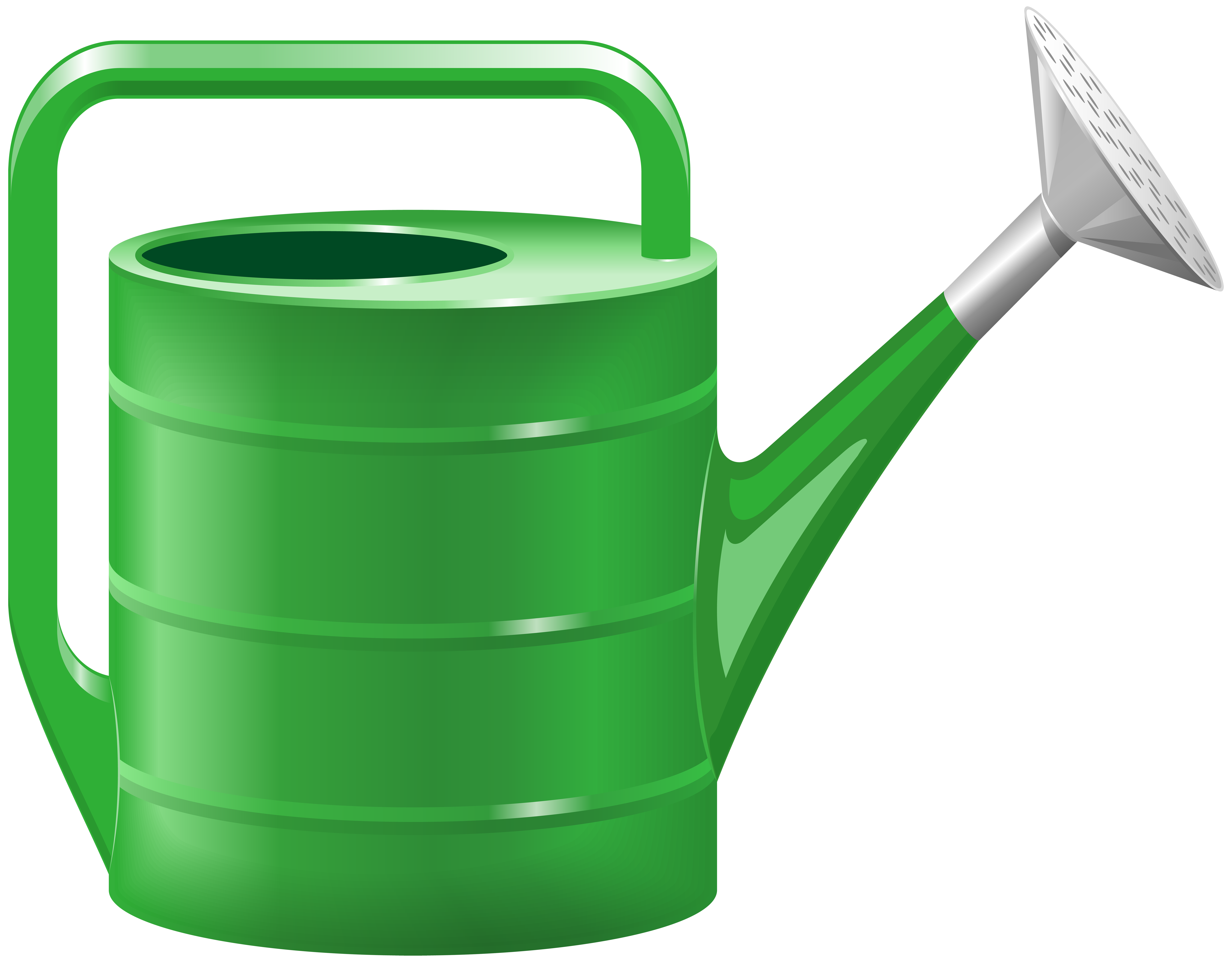 Watering Can PNG Clip Art Image.