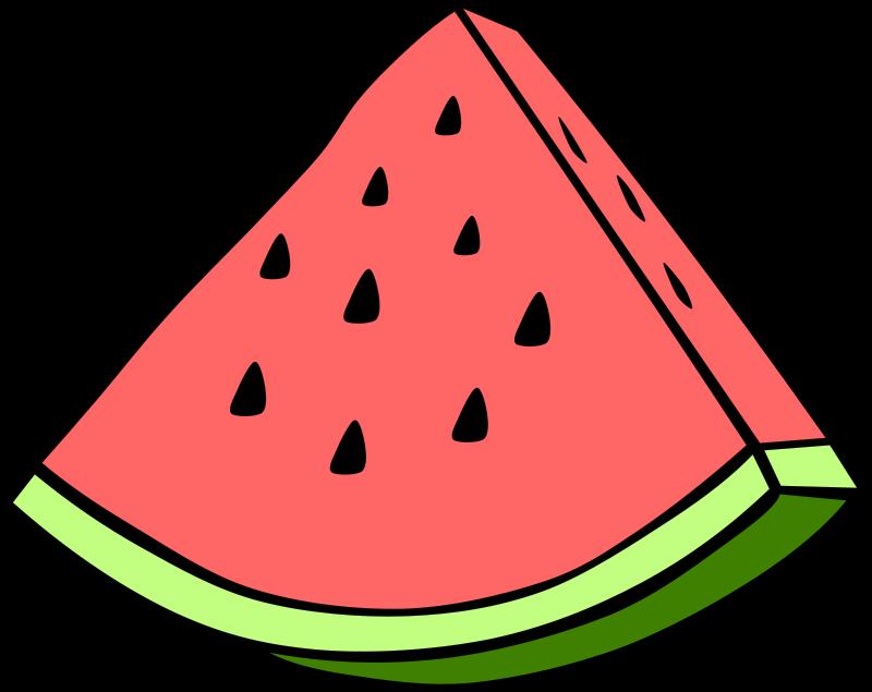 Free Clipart: Simple Fruit Watermelon.