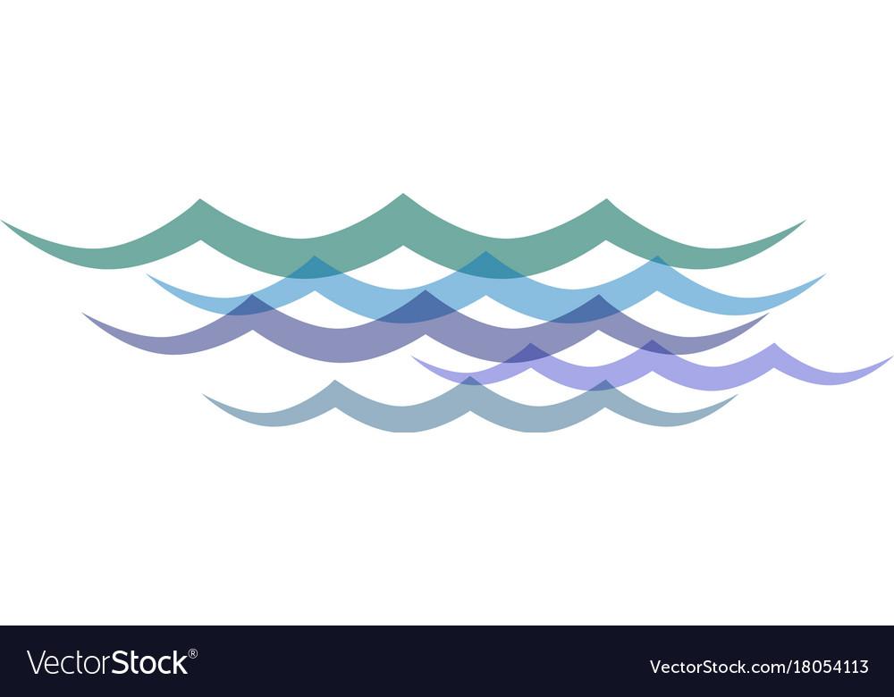 Clip art transparent waves.