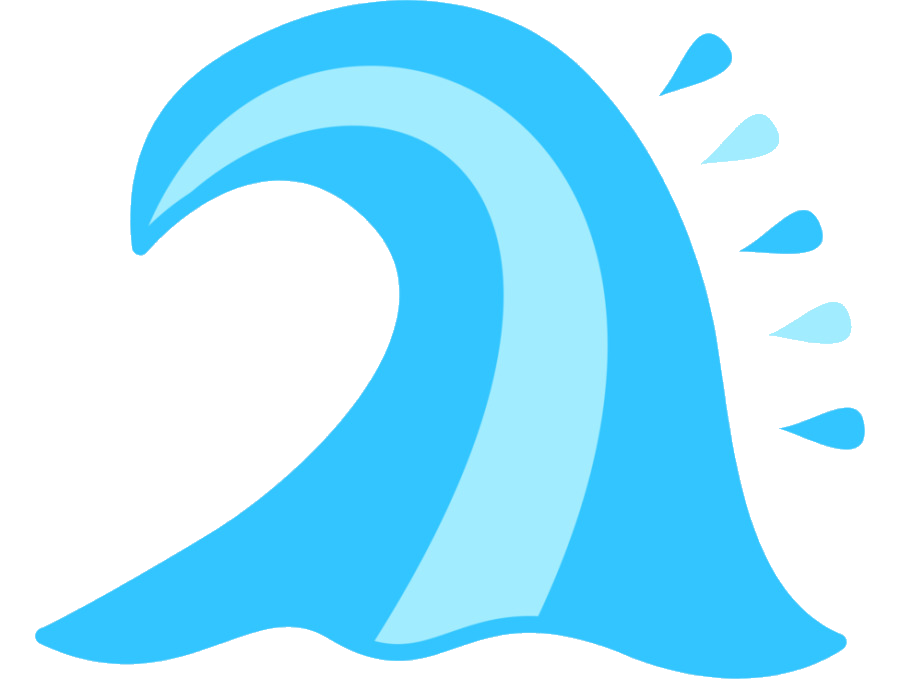 Wave Wind Cutie Mark Crusaders Ocean Clip Art Waves Cliparts Png.