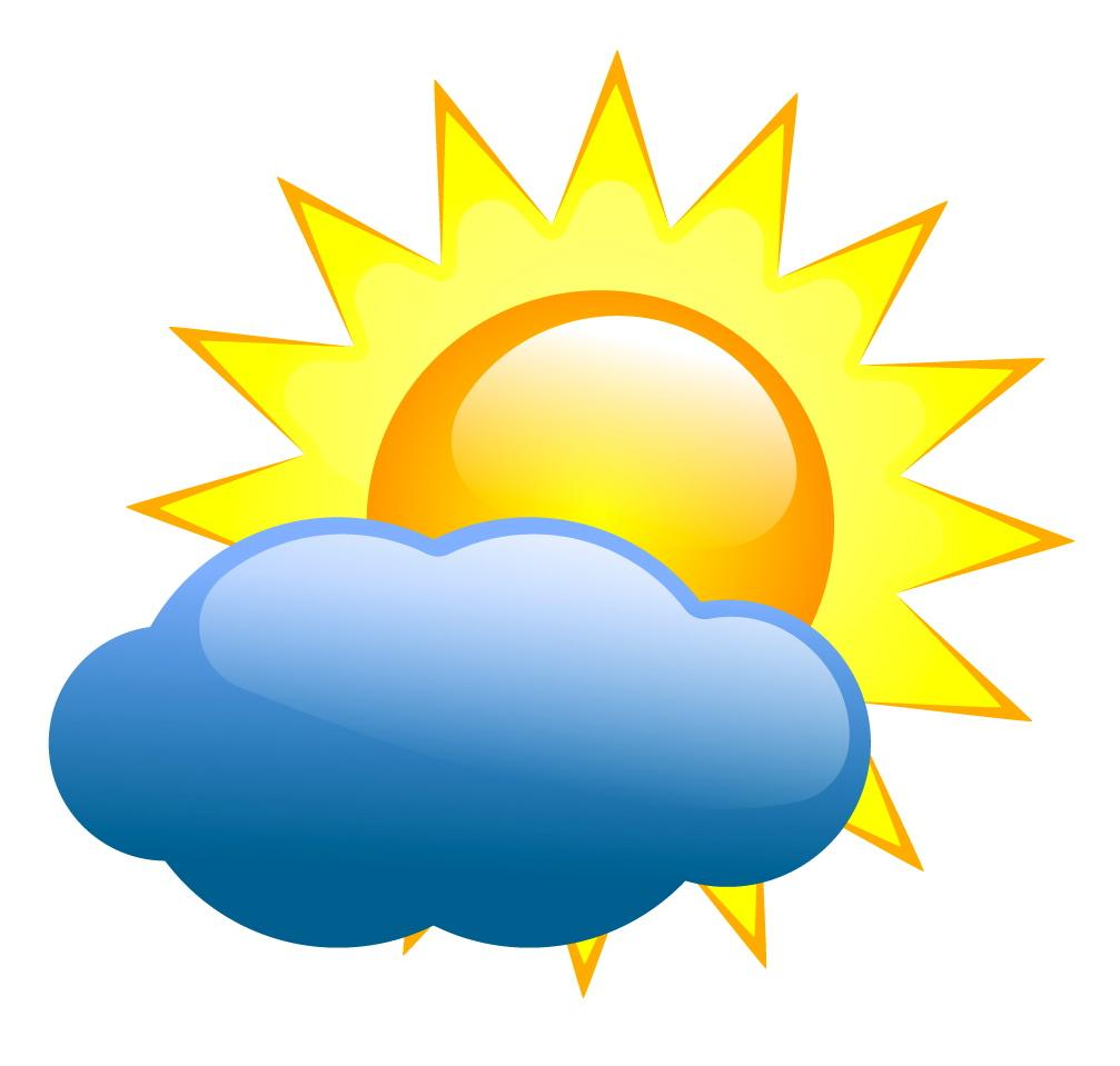 Collection of Weather clipart.