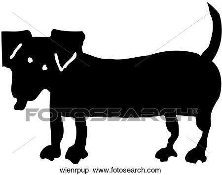 Weiner Dog Clipart.