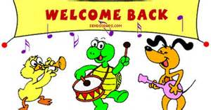 Free Welcome Back Clipart.