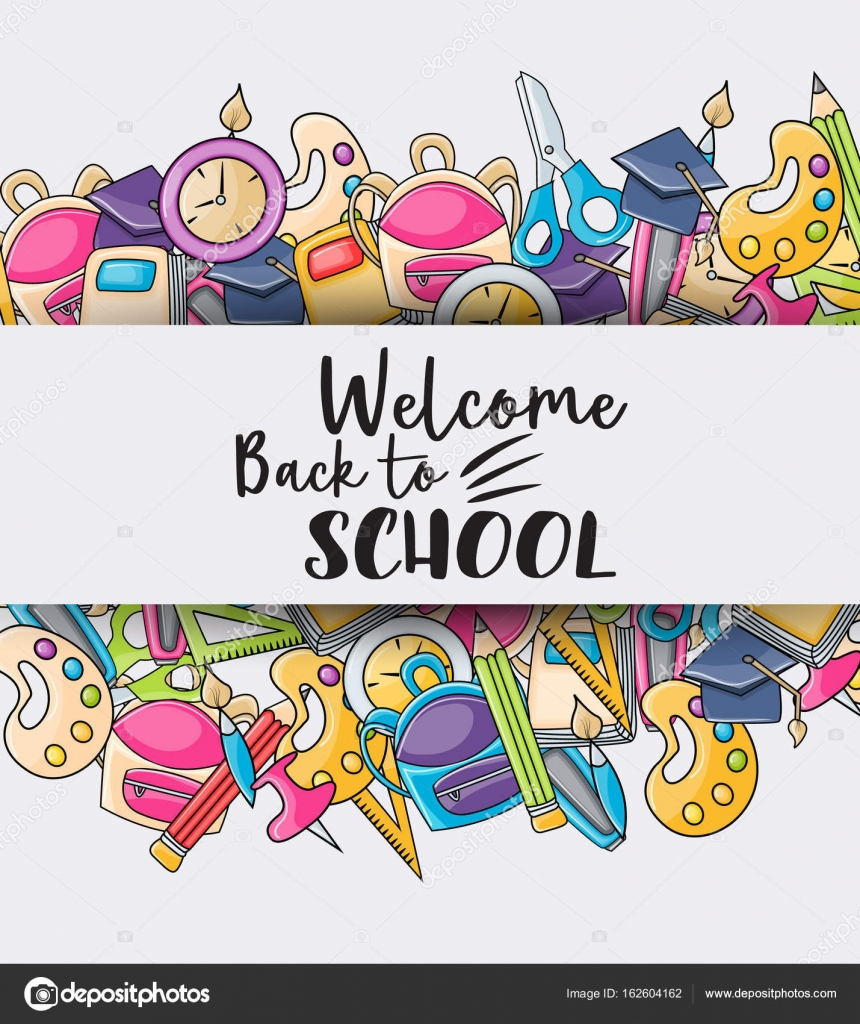 Cictures: welcome back clip art.