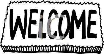 Welcome Mat Clip Art.