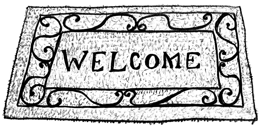 Welcome Mat Clipart (100+ images in Collection) Page 3.