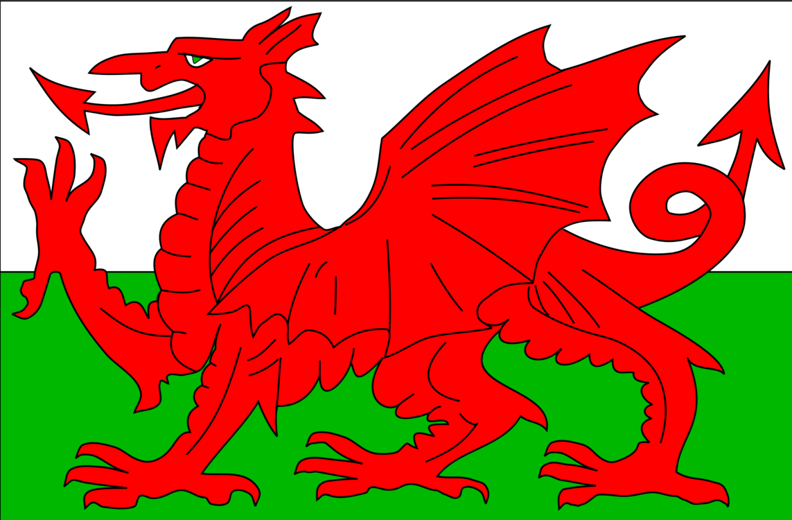 Wales Flag Clipart welsh dragon 1.