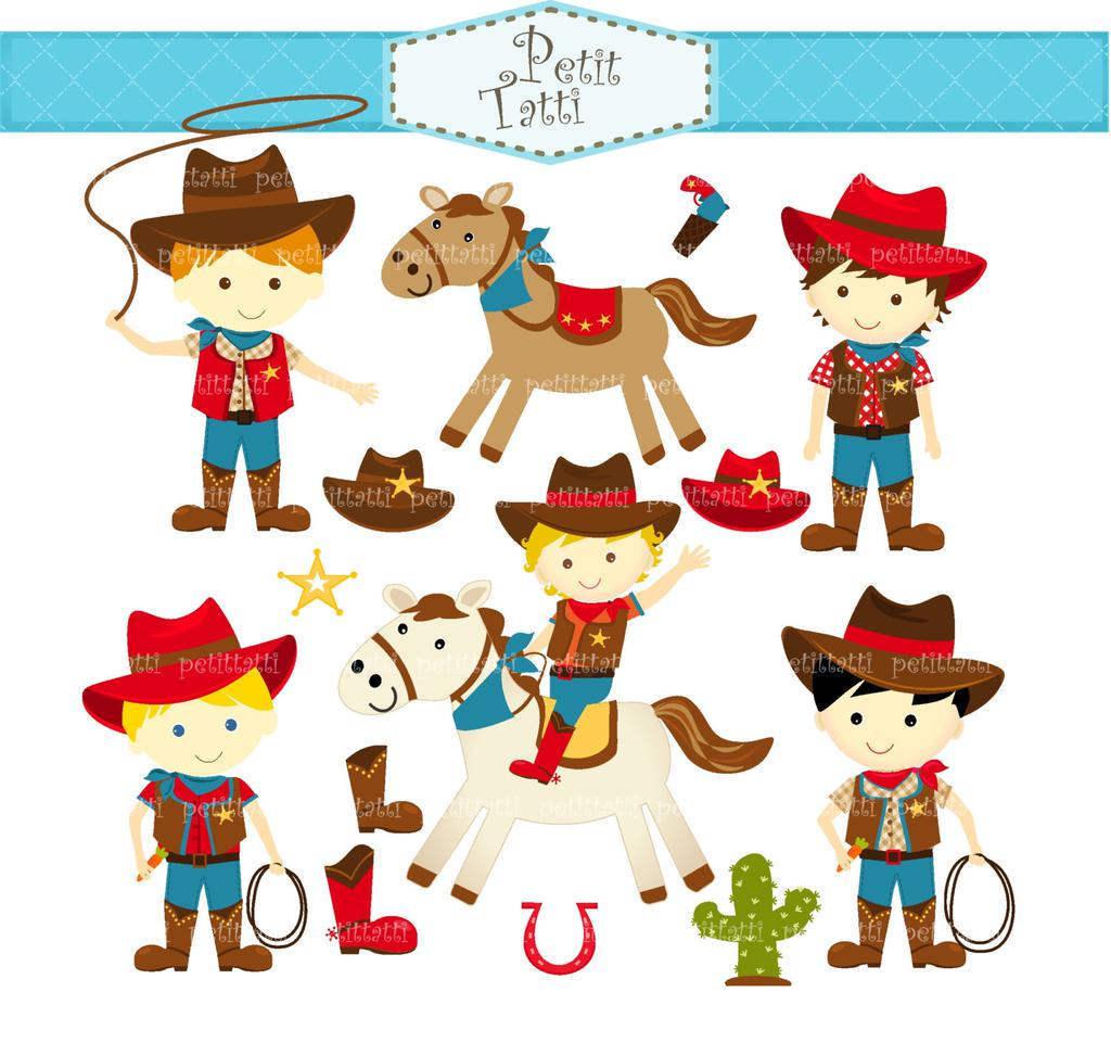 Cute Cowboy Clipart Western.