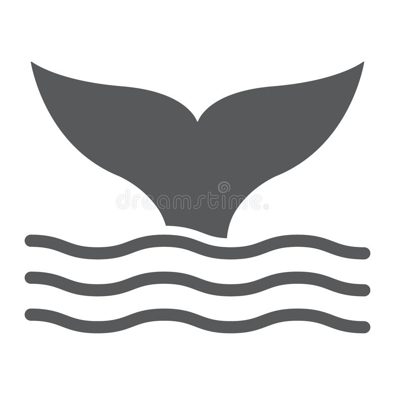 Whale Tail Stock Illustrations.