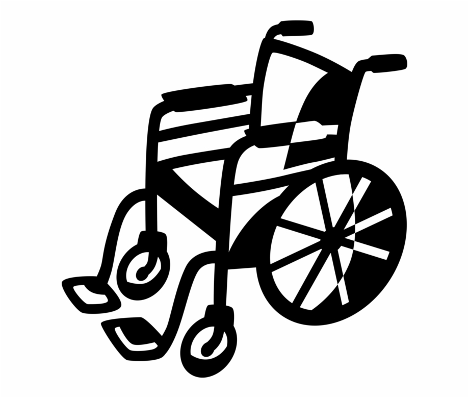 Wheelchair For Handicapped Or.