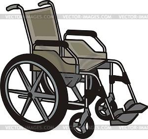 Wheelchair.