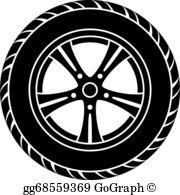 Wheels Clip Art.