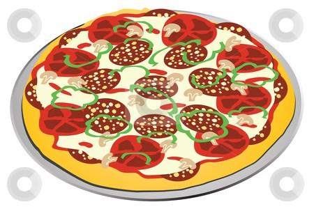 Whole pizza clipart 3 » Clipart Portal.