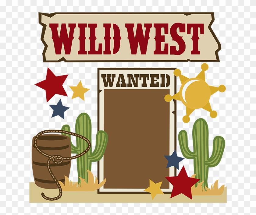 Free Wild West Clipart.