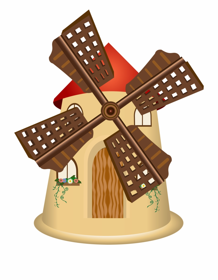 Windmill Png Clip Art Free PNG Images & Clipart Download #1307496.